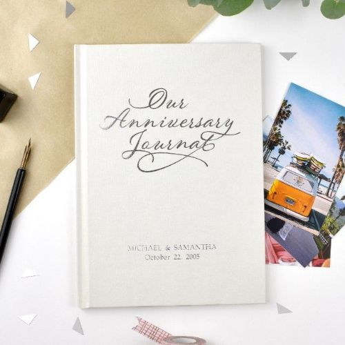 Personalised Our Anniversary Journal